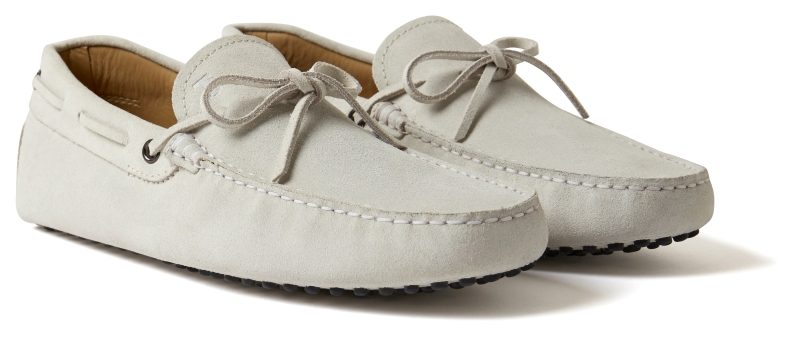 MR PORTER x Tod's - Gommino Driving Shoe (Bianco) 2