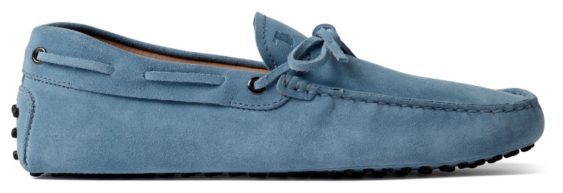 MR PORTER x Tod's - Gommino Driving Shoe (Blue)