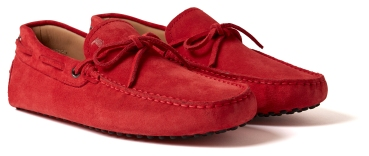 MR PORTER x Tod's - Gommino Driving Shoe (RED) 2