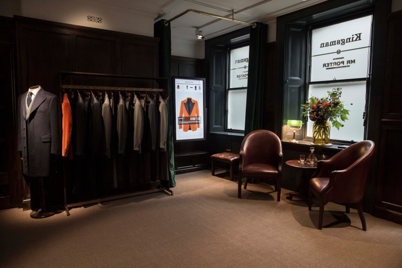 Kingsman + MR PORTER Shop 2